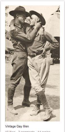 #vintagegaylove #gayhistory #gaycouple