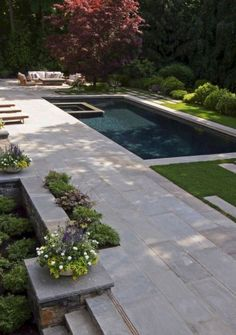 Inspiring geometric pool designs ideas (17)