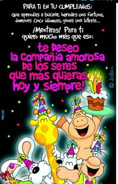 Para ti Happy Birthday In Spanish, Happy Birthday Fun, Happy Birthday Images, Relationship Quotes, Life Quotes, Prayer Board, Pretty Words, Lets Celebrate, Prayers