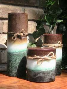 beachy candles