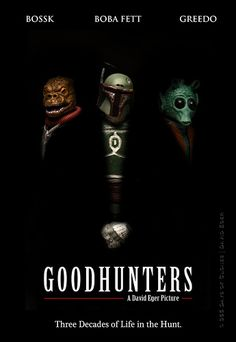 """""""Goodhunters"""": Famous Pictures Recreated With Star Wars Figures"""