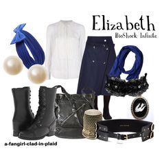 """""""Elizabeth (BioShock Infinite)"""" by a-fangirl-clad-in-plaid on Polyvore"""