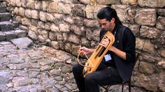 Benjamin plays the Crwth ! Enjoy this lovely ancient instrument! - YouTube