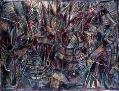 Carlos Alfonso (Cuba Afraid of Clowns 1986 Oil on Canvas 71 - 96