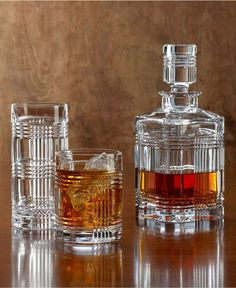 Lauren Ralph Lauren Barware, Glen Plaid Collection