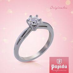 El amor de tu vida se merece lo mejor conoce nuestra variedad de anillos de compromiso en #JoyeriaPapidu rings #Jewelry #SayYes #engagement #gold #novia #PapiduCompromiso #brides #diamonds #weddingday #love #bridetobe #couple