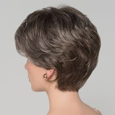 Ellen Wille Wigs Alexis Deluxe for thin hair over 50 Thin Hair Cuts, Short Thin Hair, Short Grey Hair, Short Hair With Layers, Short Shag Hairstyles, Short Layered Haircuts, Mom Hairstyles, Short Hairstyles For Women, Hair Styles For Women Over 50