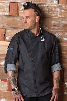 Gramercy Chef Coat [EXDZ001BLK]