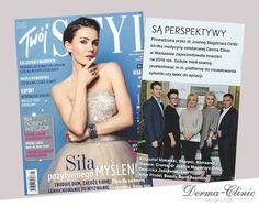 Naszą klinikę poleca magazyn Twój Styl. Bardzo dziękujemy i zachęcamy do lektury :)