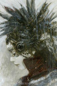 GODDESSES OF NIBIRU VII by Romulo Royo - http://www.laberintogris.com/es/7-ediciones-limitadas