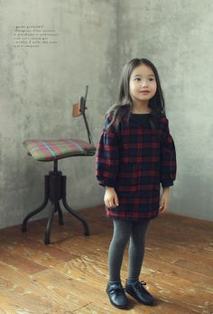 JK Kids Gingham Dress Baby Girl Fashion, Toddler Fashion, Cute Fashion, Kids Fashion, Autumn Fashion, Cute Outfits For Kids, Cute Kids, Cute Dresses, Girls Dresses