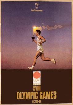 XVIII Olympic Games Tokyo 1964, Fly Lufthansa