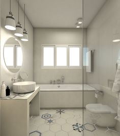 Minimalistic bathroom design.  #archzone #interiordesign #furniture #decoration #decor #renovation #greece #design #modern #minimal #tiles #decor #bath #bathroom #shower #bathtub #white #home #house #apartment #minimalbathroom #whitebathroom Construction Services, Construction Design, Minimal Bathroom, White Bathroom, Apartment Renovation, Apartment Design, Unique Furniture, Furniture Design, Architecture Plan