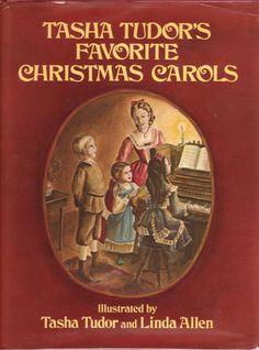 Tasha Tudor's Favorite Christmas Carols: An illustrated collection of Christmas carols. Christmas Books, Christmas Carol, Christmas Scenes, Christmas Music, Vintage Christmas, Xmas, Art Original, Vintage Children's Books, Book Authors