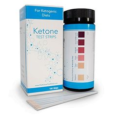Ketone Test Strips - 100 Count by My Ketone Test Strips for Urinalysis - Accurate, Medical Grade with Results in Seconds - Great for Ketosis, Atkins, and Paleo Diets ** To view further for this item, visit the image link.
