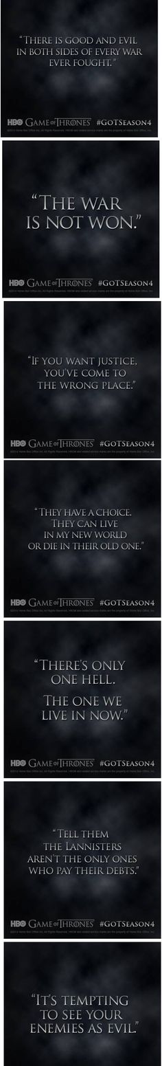 Season 4. Mixed feelings, I hope they don't stray from the books any more than they already have.