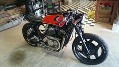 Honda VT500E Cafe Racer