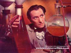 Peter Cushing - Curse of Frankenstein, 1957