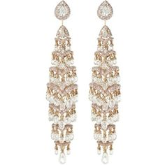 Tiered Diamond Earrings David Morris (11 914 255 UAH) ❤ liked on Polyvore featuring jewelry, earrings, accessories, brincos, joias, diamond jewelry, diamond earrings, david morris, diamond earring jewelry and earring jewelry