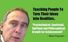 Teaching people to turn their dreams into relalities