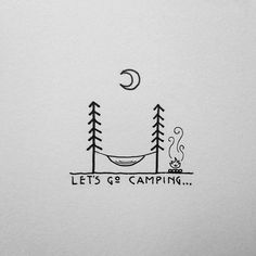 #camping #adventure #inspiration #typography