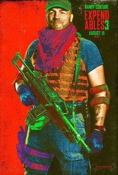 Os Mercenarios 3 Comic Con 2014 poster 6