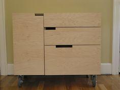 Plywood Dresser Plywood Interior, Plywood Furniture, Diy Furniture, Furniture Design, Plywood Board, Plywood Kitchen, Modern Dresser, Contemporary Furniture, Filing Cabinet
