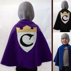 child's knight, king, princess, etc cape!