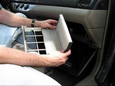 Cabin air filter replacement- Toyota Camry