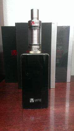 The All new Vaptio Ascension! In stock now! Comes standard with a sub tank designed for the Ascension!