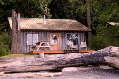 Nice little cabin, love the board and batten exterior