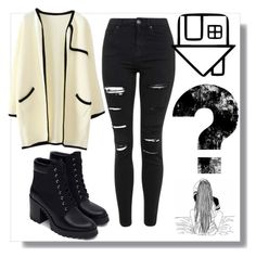 """Black Jeans"" by peacefreak27 ❤ liked on Polyvore featuring Topshop, Columbia, Zara, women's clothing, women's fashion, women, female, woman, misses and juniors"