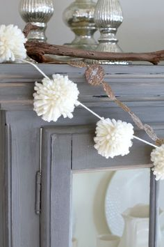 Easy Pom Pom Garland Tutorial - Chic California