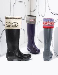 Nothing but love for Hunter boots!