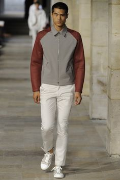 Hermès Men's RTW Spring 2013 - I have the white throusers i just need this great sweatshirt