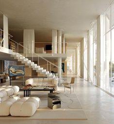Interior Architecture, Interior And Exterior, Home Interior Design, Modern Interior, Exterior Design, Interior Decorating, Dream Home Design, Future House, House Rooms
