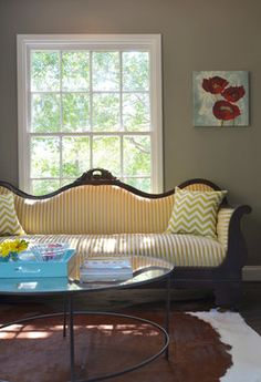 Before you hit the stores, learn what furniture to get rid of, what to look for when buying, and how to avoid mistakes