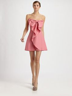 Valentino Strapless Cotton Bow Dress - absolutely gorgeous !