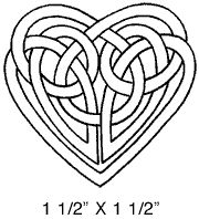 celtic heart knot - maybe for DIY invitations? Celtic Symbols, Celtic Art, Mayan Symbols, Egyptian Symbols, Ancient Symbols, Leather Tooling Patterns, Leather Pattern, Celtic Heart Knot, Celtic Knots