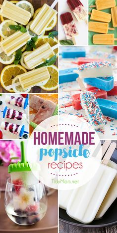 Homemade Popsicle Re