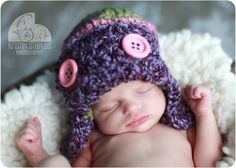 Adorable baby...adorable hat...