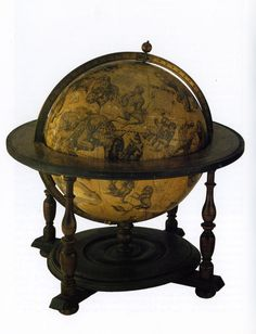 17th century celestial globe. I think this is neat!