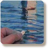 Pastel & Charcoal how-to video: The Art of Water: Pastel by Bob Rohm