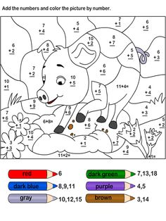 coloring pages for kids free printable numbers preschool worksheets Preschool Number Worksheets, Fun Worksheets For Kids, Addition Worksheets, Numbers Preschool, Preschool Math, Kindergarten Worksheets, Fun Math, Math Activities, Maths