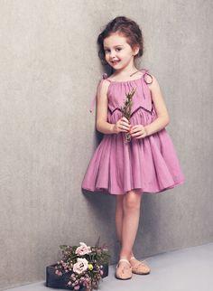 Nellystella Love Mimi Dress - Smoky Grape