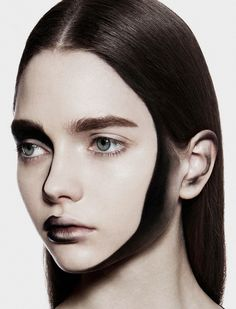 painted | katiusha feofanova by filippo thiella for to2w