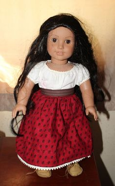 American Girl Doll Josefina Retired Meet Skirt ONLY Pleasant Company