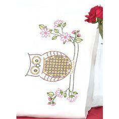 Owl Pillowcases Quilt Kits, Pillowcases, Needlepoint, Smocking, Needlework, Owl, Cross Stitch, Mary, Tapestry