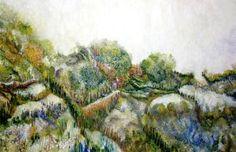 "Saatchi Art Artist Christien Naber; Painting, ""Nature Memory Book"" #art"