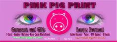 Pink Pig Print